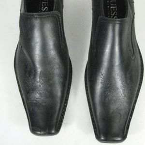 Guess By Marciano Leather SlipOn Shoes